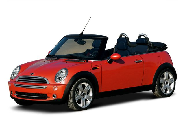 2008 MINI Cooper Convertible  Front Wheel Drive Aluminum Wheels Temporary Spare Tire Power Steer