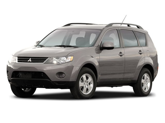 2008 Mitsubishi Outlander XLS Traction Control Stability Control Four Wheel Drive Tires - Front