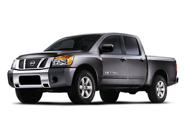 2008 Nissan Titan SE Traction Control Four Wheel Drive Tow Hooks Tires - Front All-Season Tires