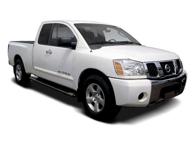 2008 Nissan TITAN  Rear Wheel Drive Tires - Front All-Season Tires - Rear All-Season Conventiona