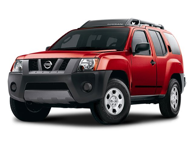 2008 Nissan Xterra S Roof rack wcross bars  gear basket  air dam  Tubular step rails  Black fro