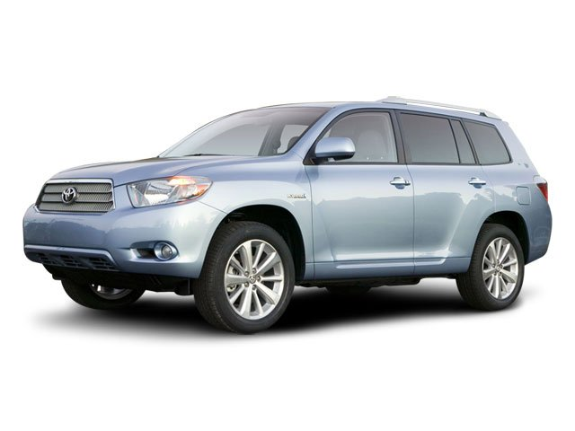 2008 Toyota Highlander Hybrid Limited 3542 Axle Ratio19 10-Spoke Aluminum Alloy WheelsPower Mul
