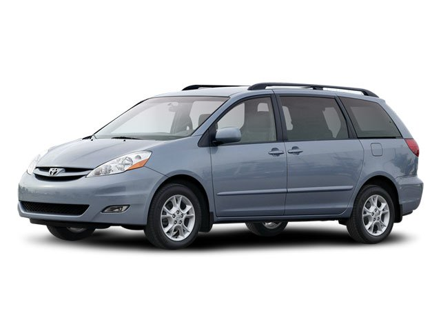 2008 Toyota Sienna Limited Traction Control Stability Control All Wheel Drive Tires - Front All-