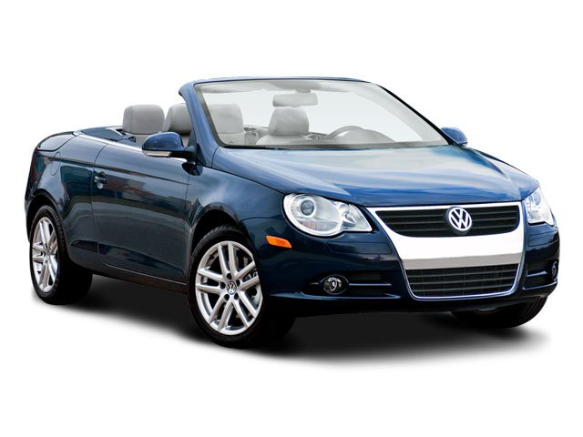 2008 Volkswagen Eos Lux Turbocharged Traction Control Stability Control Front Wheel Drive Tires