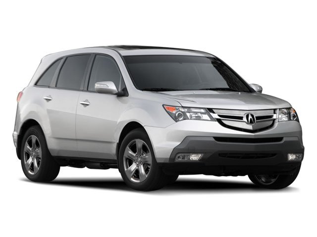 2009 Acura MDX 37L All Wheel Drive Power Steering 4-Wheel Disc Brakes Aluminum Wheels Tires -