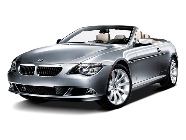 2009 BMW 6 Series 650i Rear Wheel Drive Power Steering 4-Wheel Disc Brakes Tires - Front Perform