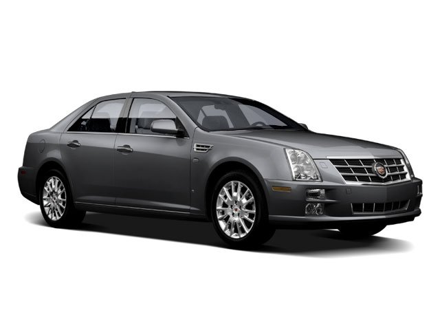 2009 Cadillac STS AWD w1SB SEATS  FRONT BUCKET  with articulating head restraints STD EBONY  NU