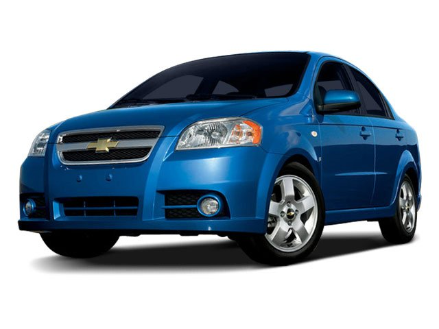 2009 Chevrolet Aveo LT w2LT Air conditioning single-zone manual includes K11 air filter and rear