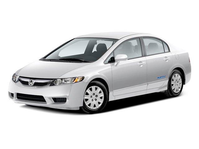 2009 Honda Civic Sdn GX 15 Wheels wFull CoversFront Bucket SeatsCloth Seat Trim160-Watt AMFM