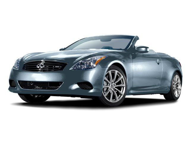 2009 Infiniti G37 Convertible Sport Rear Wheel Drive Keyless Start Power Steering 4-Wheel Disc B