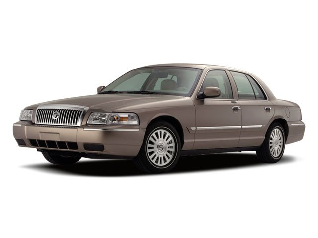 2009 Mercury Grand Marquis LS Rear Wheel Drive Air Suspension Power Steering 4-Wheel Disc Brakes