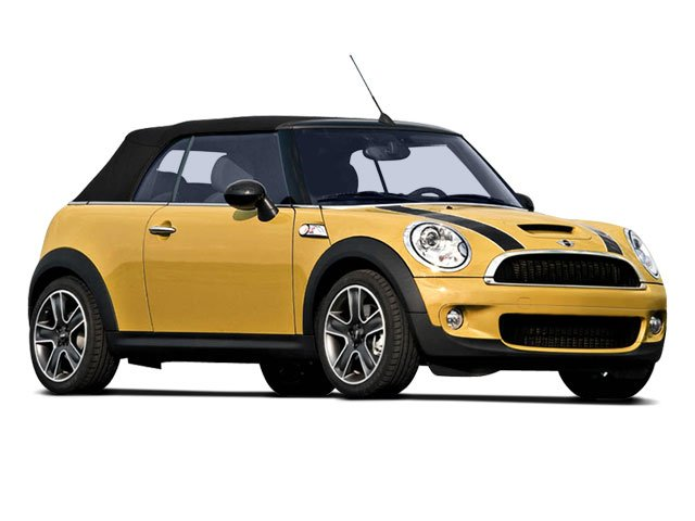 2009 MINI Cooper Convertible 2dr Convertible Front Wheel Drive Power Steering 4-Wheel Disc Brakes