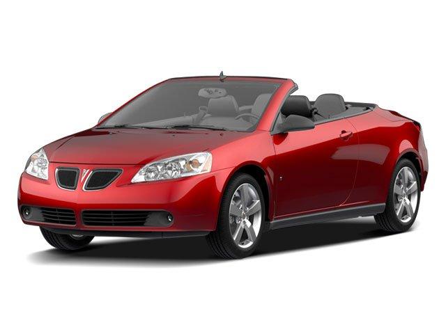 2009 Pontiac G6 GT HARD TOP CONVERTIBLE InstalledIncludes2 Doors 4-wheel ABS brakes Air condition