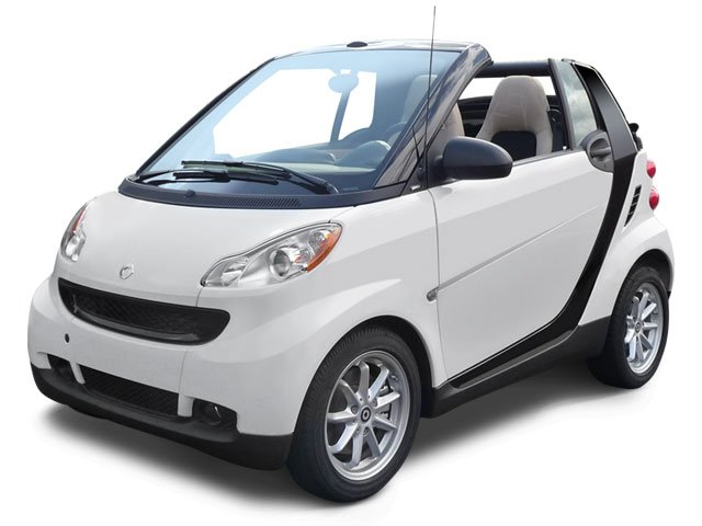 2009 Smart fortwo Passion Rear Wheel Drive Manual Steering Front DiscRear Drum Brakes Aluminum