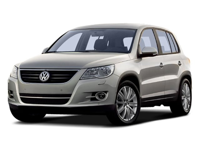 2009 Volkswagen Tiguan S Turbocharged Traction Control Front Wheel Drive Power Steering 4-Wheel