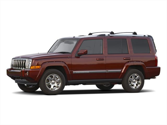 2010 Jeep Commander Limited Rear Wheel Drive Power Steering Aluminum Wheels Tires - Front All-Te