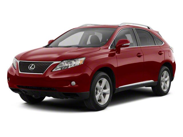 2010 Lexus RX 350 L Front Wheel Drive Power Steering 4-Wheel Disc Brakes Aluminum Wheels Tires