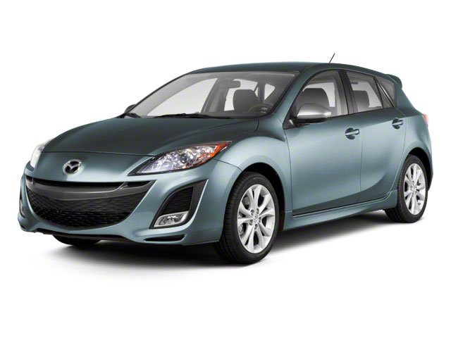 2010 Mazda Mazda3 HB5SPD Front Wheel Drive Power Steering 4-Wheel Disc Brakes Aluminum Wheels