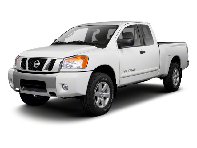 2010 Nissan Titan  Rear Wheel Drive Power Steering 4-Wheel Disc Brakes Tires - Front All-Season