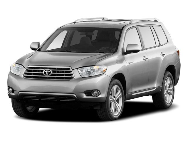 2010 Toyota Highlander Limited Four Wheel Drive Power Steering 4-Wheel Disc Brakes Aluminum Whee
