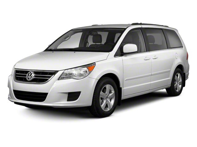 2010 Volkswagen Routan SEL wNavigation Front Wheel Drive Air Suspension Power Steering 4-Wheel