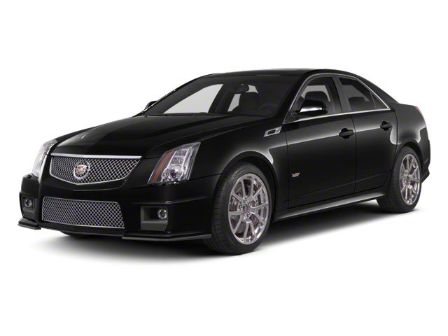 2011 Cadillac CTS-V Sedan Base BOSE 10 SPEAKER AUDIO SYSTEM ENGINE  62L SUPERCHARGED V8  556 hp