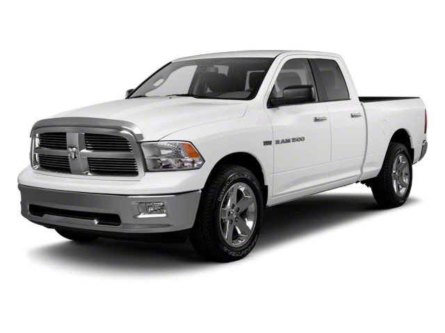 2011 Ram 1500 Quad Rear Wheel Drive Power Steering ABS 4-Wheel Disc Brakes Conventional Spare T