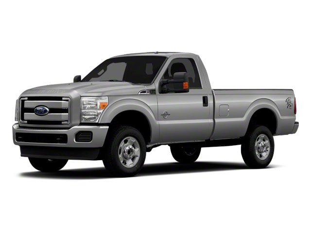 "2011 Ford Super Duty F-350 SRW XL 4WD Reg Cab 137"" XL Turbocharged Diesel V8 6.7L/406"