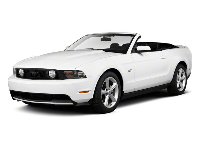 2011 Ford Mustang 2dr Conv V6 Premium Rear Wheel Drive Power Steering 4-Wheel Disc Brakes Alumin