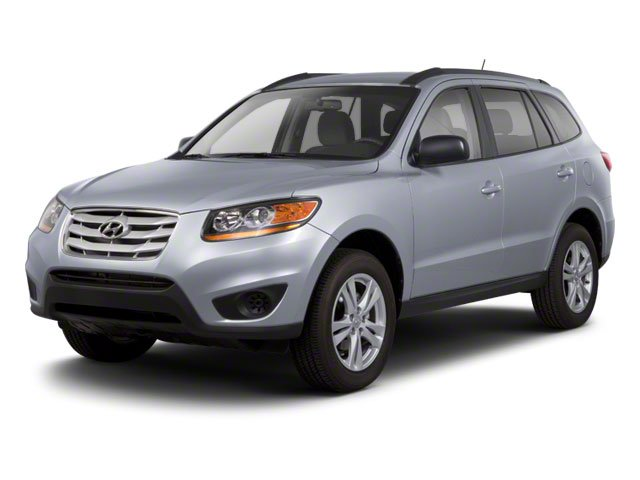 2011 Hyundai Santa Fe 62422A45 GLS Automatic Moonstone Silver Cocoa Black All Wheel Drive Powe