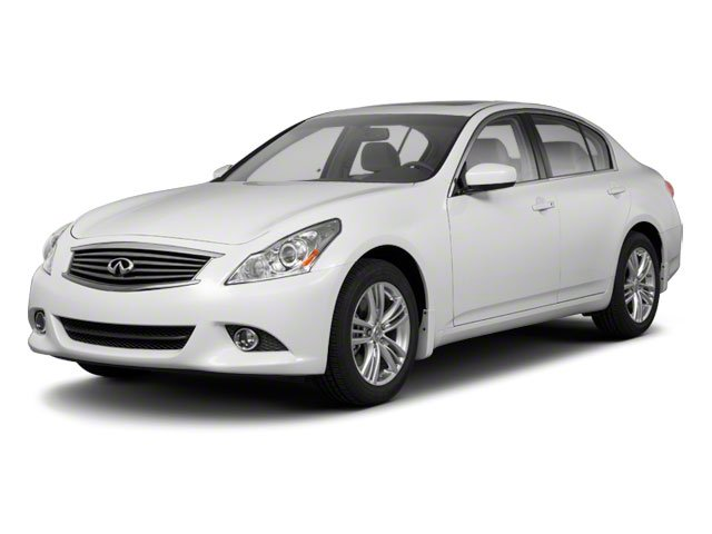 2011 Infiniti G25 Sedan X AWD All Wheel Drive Tow Hooks Power Steering 4-Wheel Disc Brakes Alum
