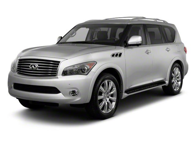 2011 INFINITI QX56 8-passenger LIQUID PLATINUM H02 TECHNOLOGY PKG  -inc intelligent cruise cont