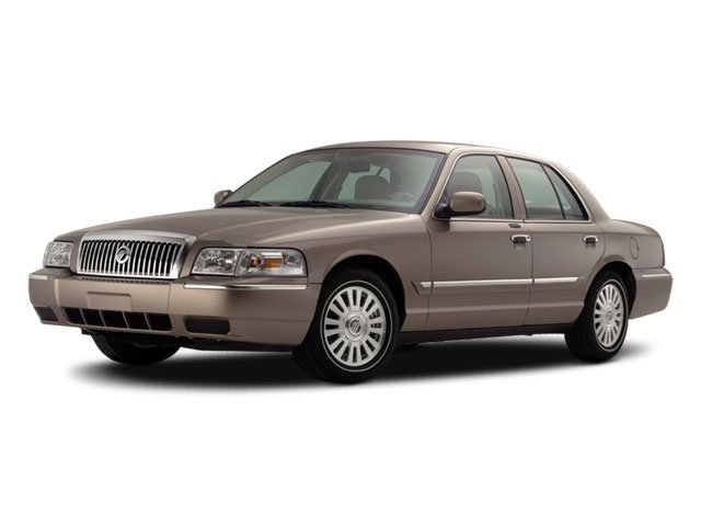 2011 Mercury Grand Marquis LS Rear Wheel Drive Air Suspension Power Steering 4-Wheel Disc Brakes