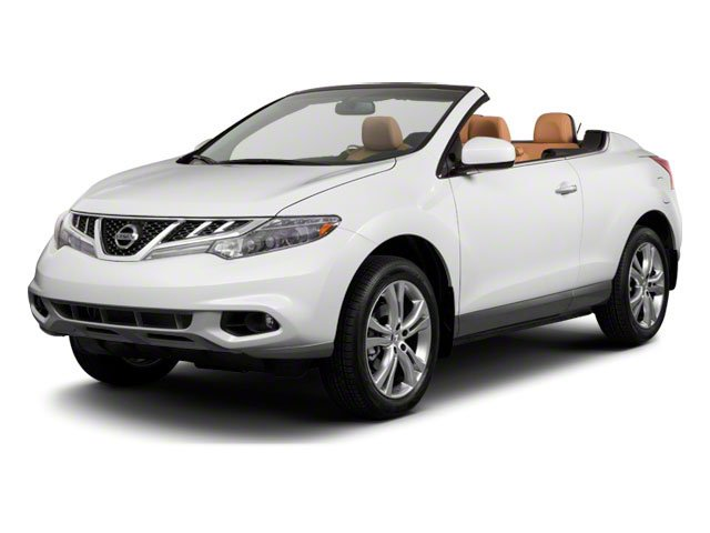 2011 Nissan Murano CrossCabriolet AWD 2DR CONVERTIB BLACK  LEATHER SEAT TRIM PLATINUM GRAPHITE MET