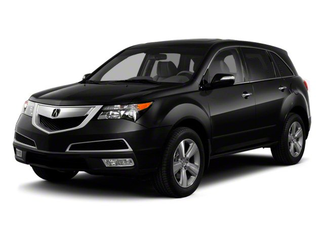 2012 Acura MDX Advance Pkg All Wheel Drive Active Suspension Power Steering 4-Wheel Disc Brakes