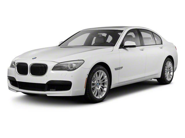 2012 BMW 7 Series 740Li Turbocharged Rear Wheel Drive Air Suspension Active Suspension Power St