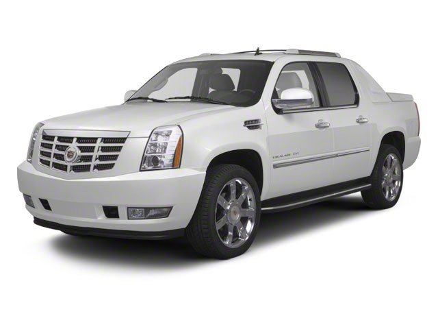 2012 Cadillac Escalade EXT Premium LICENSE PLATE BRACKET  FRONT TIRES  P28545R22  ALL-SEASON  BLA
