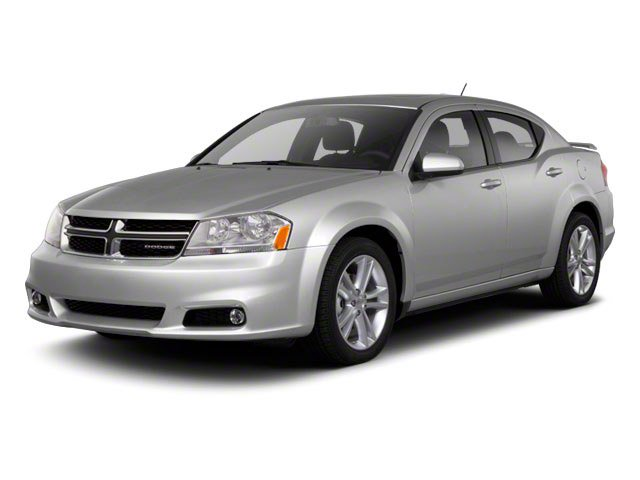 2012 Dodge Avenger SXT Plus Front Wheel Drive Power Steering ABS 4-Wheel Disc Brakes Aluminum W