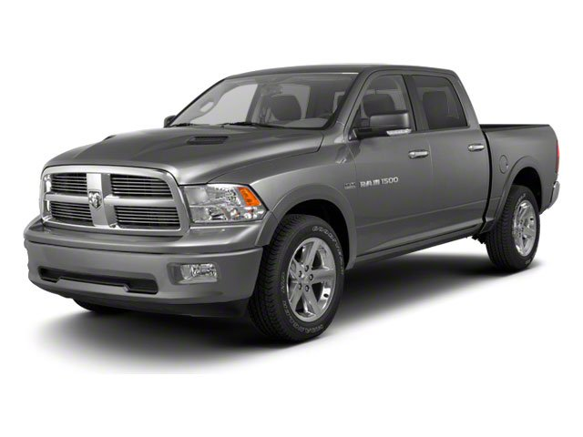 2012 Ram 1500 4WD Crew Cab 1405 Big Horn Heated Mirrors Power Mirrors Passenger Vanity Mirror