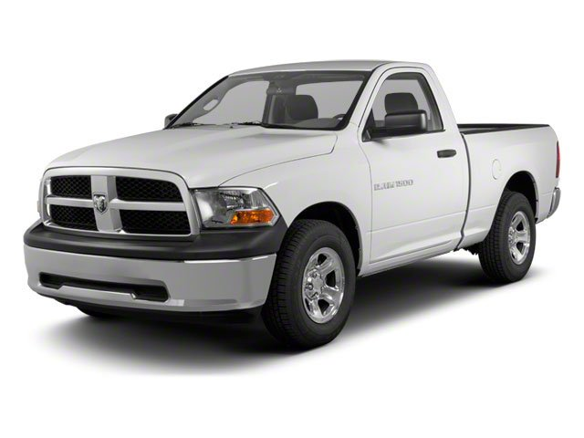 2012 Dodge 1500 ST Rear Wheel Drive Power Steering ABS 4-Wheel Disc Brakes Steel Wheels Tires