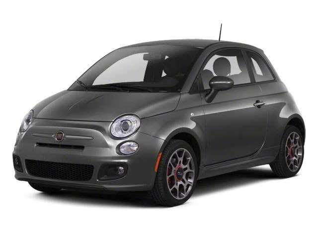 2012 FIAT 500 Lounge 2D Hatchback Front Wheel Drive Power Steering ABS 4-Wheel Disc Brakes Alum