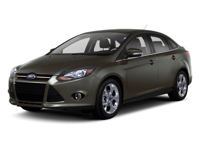 2012 Ford Focus Titanium Front Wheel Drive Power Steering 4-Wheel Disc Brakes Aluminum Wheels T