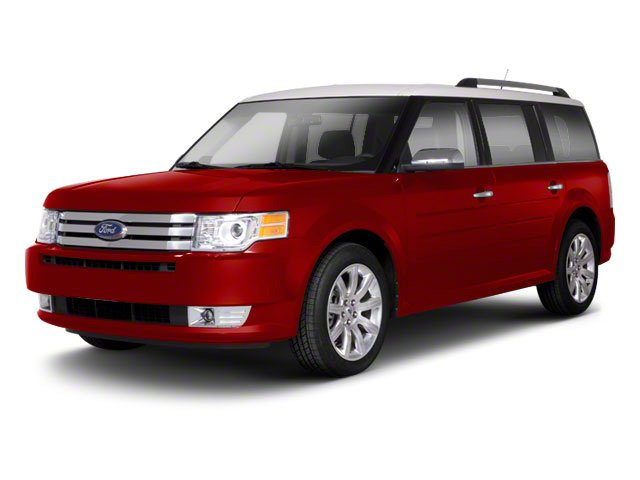 2012 Ford Flex SE Front Wheel Drive Power Steering Aluminum Wheels Tires - Front All-Season Tir