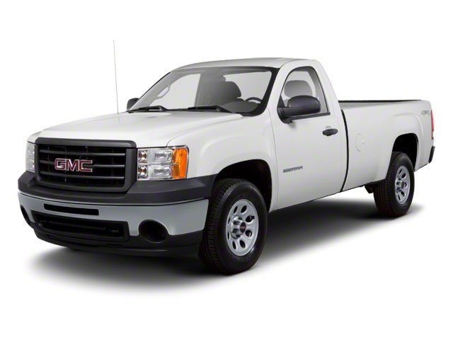 2012 GMC Sierra 1500 Work Truck Rear Wheel Drive Power Steering ABS Front DiscRear Drum Brakes