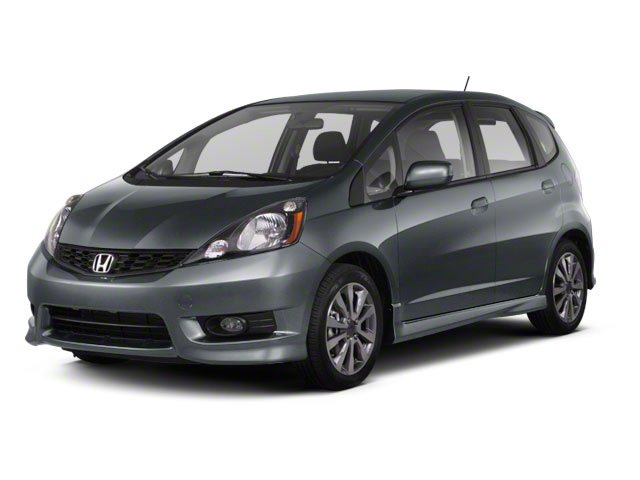 2012 Honda Fit Sport Front Wheel Drive Power Steering Front DiscRear Drum Brakes Aluminum Wheel