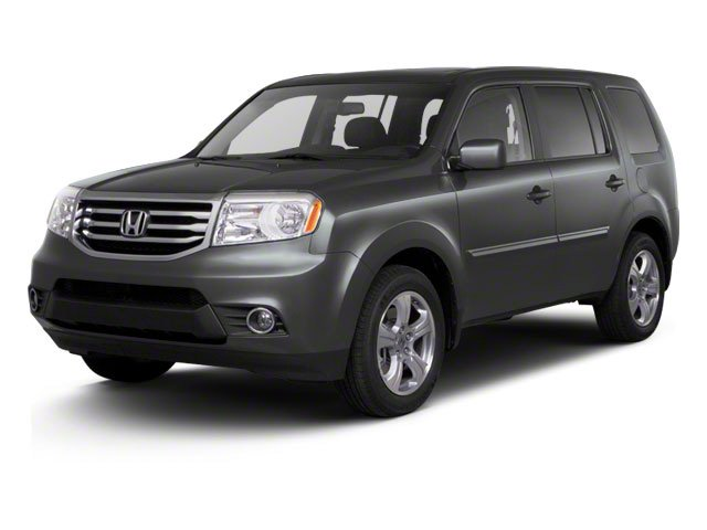 2012 Honda Pilot EX-L Front Wheel Drive Tow Hitch Power Steering 4-Wheel Disc Brakes Aluminum W