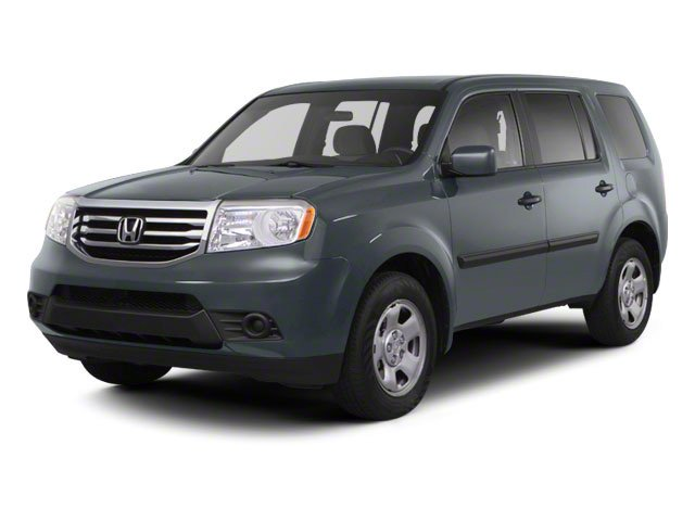 2012 Honda Pilot LX Front Wheel Drive Tow Hitch Power Steering 4-Wheel Disc Brakes Steel Wheels