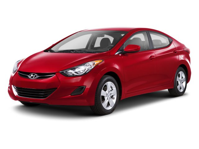 2012 Hyundai Elantra  Front Wheel Drive Power Steering 4-Wheel Disc Brakes Heated Mirrors Power