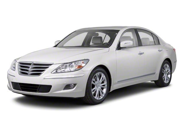 2012 Hyundai Genesis 38L Rear Wheel Drive Power Steering 4-Wheel Disc Brakes Aluminum Wheels T