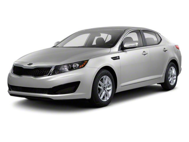 2012 Kia Optima LX WHEEL LOCKS CARGO NET REAR BUMPER APPLIQUE CONVENIENCE PKG  -inc 8-way pwr d